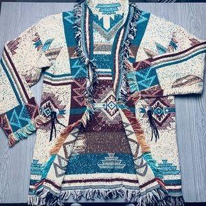 🌿Native blanket sweater tribal cardigan🌿